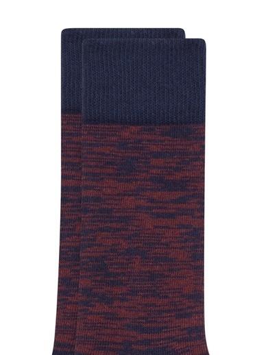 Mavi Çorap Bordo